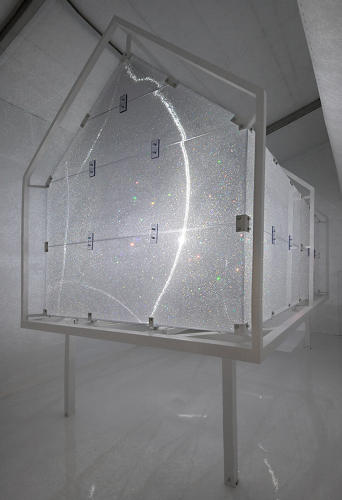 <p>For Art Basel Miami Beach, Swarovksi tapped Asif Khan to build something out of their signature material: crystals.</p>