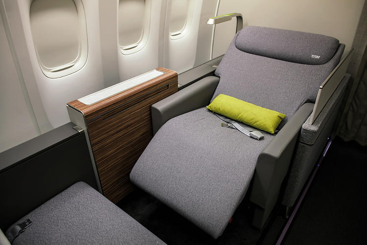 <p>It has a particular focus on soft materials, and when is the last time you've seen wood grain on an airplane?</p>