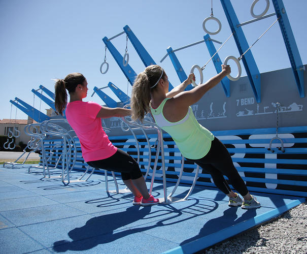 <p>The NFC is a modular, rapidly deployable, outdoor gym.</p>