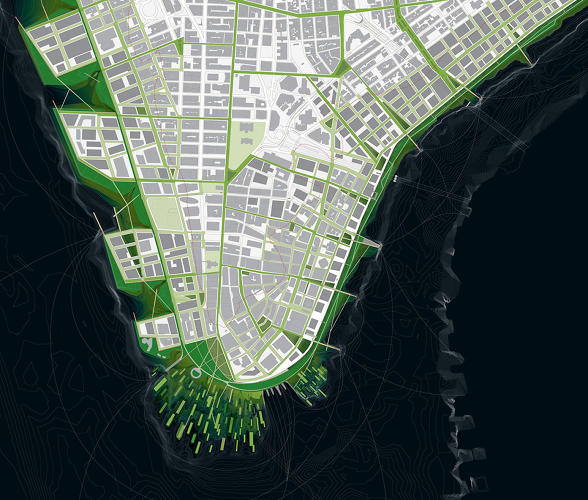 <p>Plus, it would have the lovely side effect of making New York a much greener city, ringed by lush marshlands.</p>