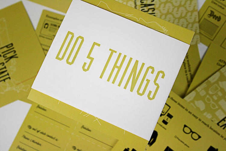 <p>With your items come &quot;do&quot; cards--tasks you should complete to be prepared for problems beyond buying the supplies part.</p>