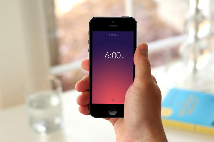 <p>Rise, created by Inchauste and his pal Kellen Styler, is a minimalist alarm-clock app with a simple gestural UI.</p>