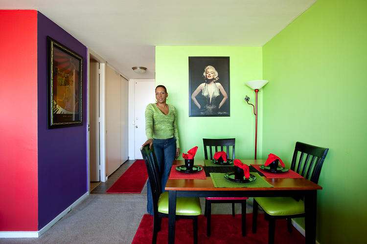 <p>&quot;When I was painting everybody was saying 'What is she going to do with this, is she crazy with all of the colors?'&quot; says Trosia, a Pavilion resident. &quot;But when they put my furniture and stuff in here they said, 'now I understand.'&quot;</p>