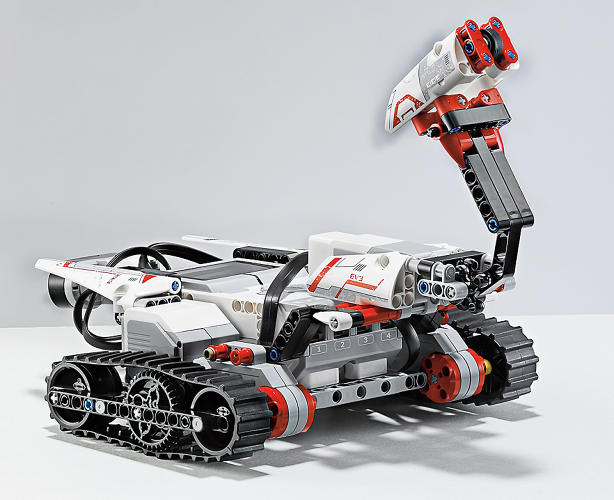 <p>… and a rover. They're partly the creative vision of Lego, partly the results of studying how kids interact with robotic toys.</p>