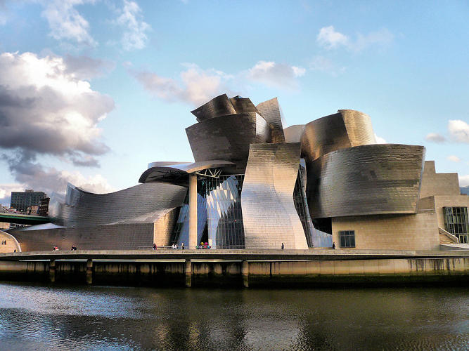 <p>Yet she defended other bold and iconic structures, such as Gehry's Guggenheim Bilbao.</p>