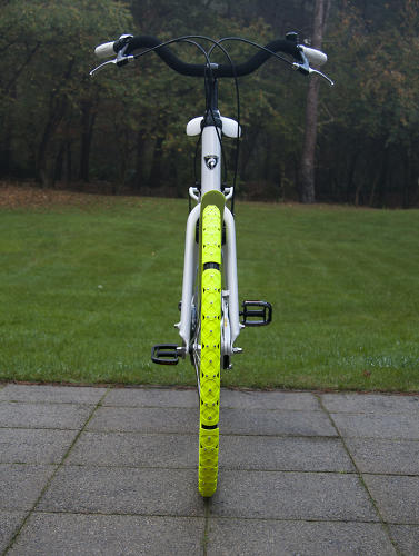 <p>The bike spikes add very little additional heft to the wheels.</p>
