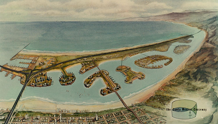 <p>Santa Monica Offshore Freeway.</p>