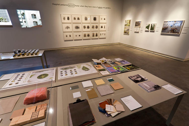 <p>The exhibition also included plenty of projects dealing with old age and hospital care.</p>