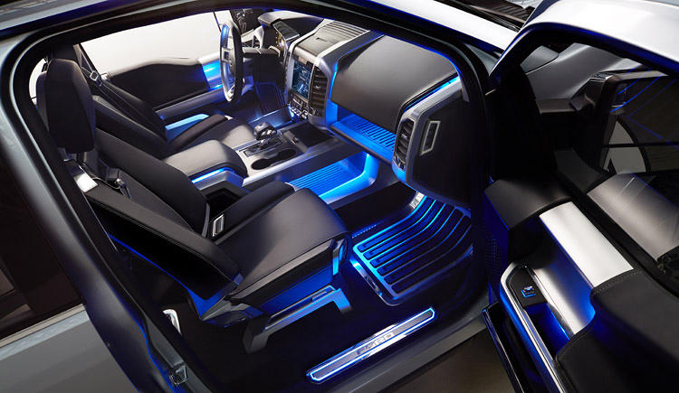 <p>Stock photo of the most manly creation of mankind, electric blue interior.</p>