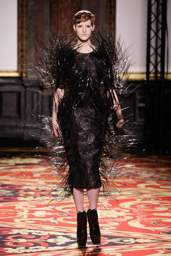 "<p>""My work very much comes from abstract ideas and using new techniques, not the reinvention of old ideas,"" van Herpen commented.</p>"