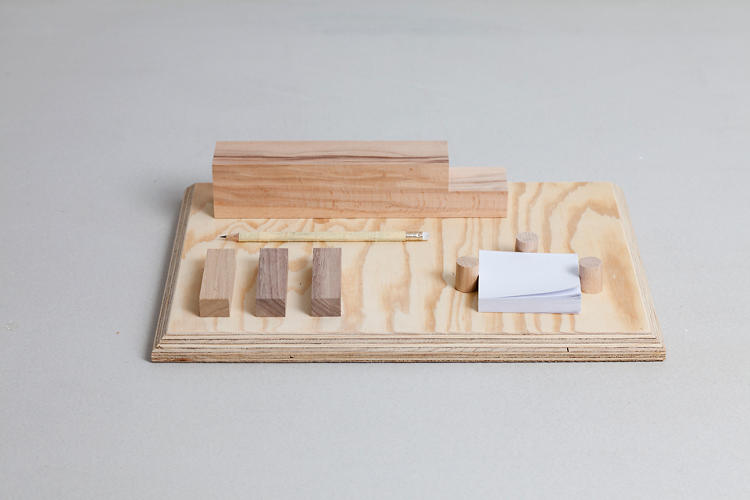 <p>Das Wilde Denken, organized by the folks at Depot Basel, offered a selected group of designers and creative types to use the extra materials in their studios for an intensive, two-and-a-half day make-a-thon. Here's Matylda Krzykowski's Büro, a stationery set.</p>