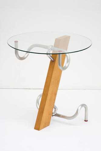 <p>Jasper Morrison's Handlebar Table is one of hundreds of objects on view at the Design Museum's new exhibit, <em>Extraordinary Stories About Ordinary Things</em>.</p>