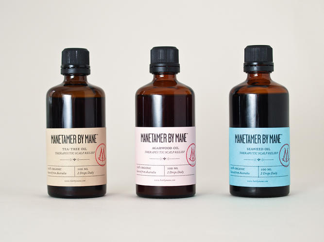 <p><a href=&quot;http://www.creativeinc.ie/&quot; target=&quot;_blank&quot;>Creative Inc.</a> fashioned an identity for Dublin hair brand Mane inspired by the &quot;flowing tentacles of jellyfish.&quot; The products are sold in apothecary-like bottles.</p>