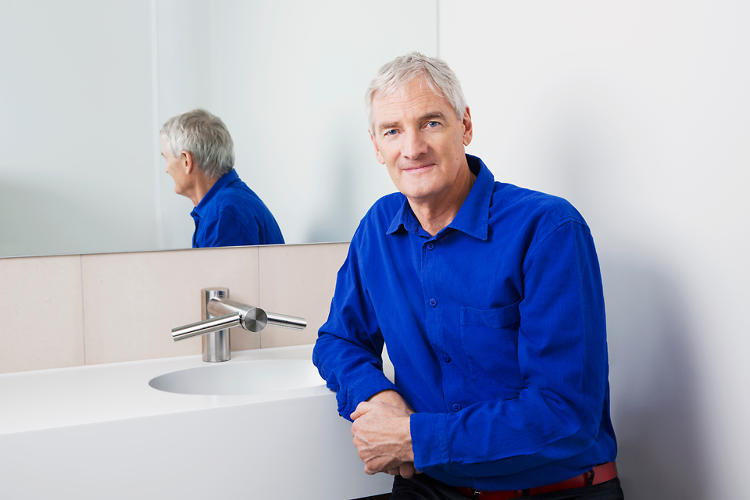 <p>James Dyson introduced three new hand dryers last night, all containing the new V4 motor that took seven years and $42.3 million to develop.</p>