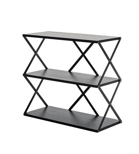 <p>Extendable scissor-lift trucks inspired Staffan Holm's Lift shelves.</p>