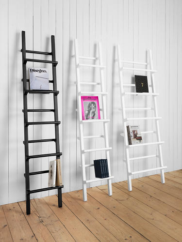 <p>Mikko Halonen's Verso shelf was the result of a competition by a Finnish publishing company to design a display for a new pocket series of classic books.</p>