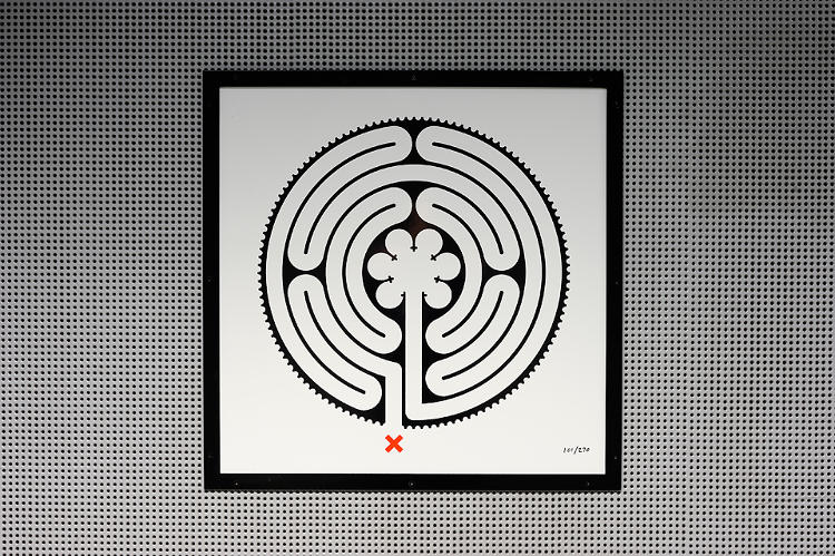 <p><em>Labyrinth</em>, a new set of artworks by Mark Wallinger, was commissioned to celebrate the London Underground's 150th birthday.</p>
