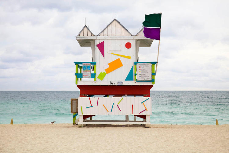 <p>Leo Caillard's photographs of shacks built by Miami life guards are featured in a new book from Gestalten, <em>Rock the Shack: The Architecture of Cabins, Cocoons and Hide-Out</em>s.</p>