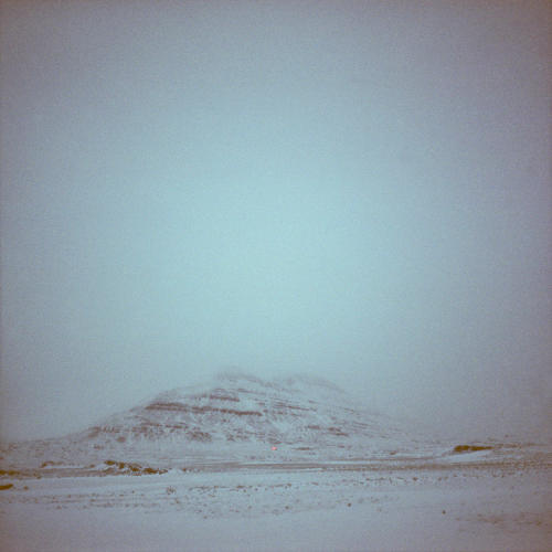 <p>A plateau engulfed in wind and sleet.</p>