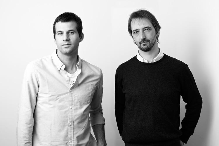 <p>The designers, Daniel Debiasi and Federico Sandri.</p>