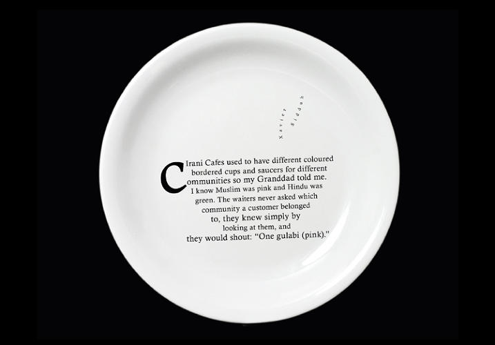 "<p>Each of the plates at Dishoom is adorned with a tale submitted online. ""Whilst we couldn't fill the tables with the characters from the old cafes we found a way to fill them with their wonderful stories,"" Emma DeLaFosse, executive creative director, OgilvyOne UK says.</p>"
