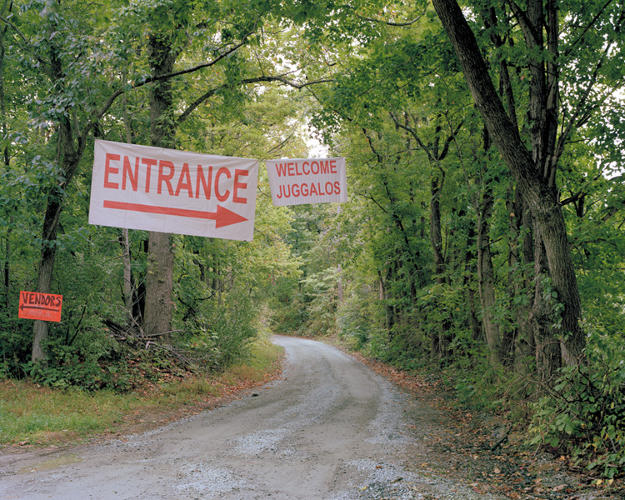 <p>The entrance to the campground.</p>