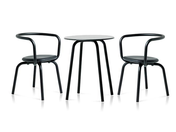 <p>Konstantin Grcic worked with the American manufacturer Emeco to create a line of outdoor furniture for the Parrish Art Museum, in Milltown, Long Island.</p>