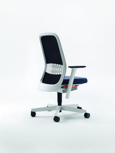 <p>As Tom Lloyd, one of the studio's founders explains, task chairs often take on &quot;the unsympathetic aesthetic of the machine--masculine and aggressive, grey and black plastic, with prosthetic armatures and multiple levers.&quot; The design of the Riya, he says, &quot;has been largely driven by a desire to challenge this trend.&quot;</p>