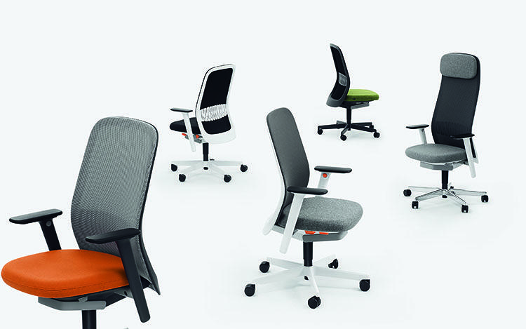 <p>The Riya, a new task chair designed by Pearson&amp;Lloyd for Bene, comes with a few options addressing various issues of the modern workplace.</p>
