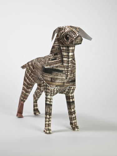 <p>Gerald was born during a rebrand back in 2008, and two years ago Lazerian founder Liam Hopkins send a bunch of the flat-packed pups to his favorite creative types around the world to decorate.</p>