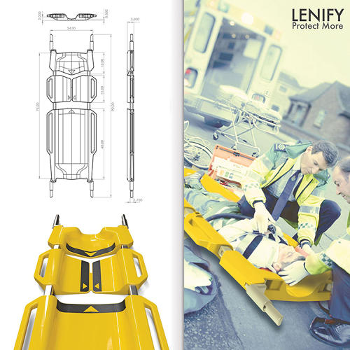 <p>The Lenify is a new stretcher concept by Danny Lin, designed to reduce the chance of secondary injury.</p>