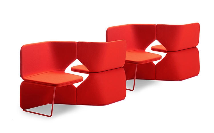 <p>The Studio series chairs are a new type of chair intended for spaces like libraries and airports.</p>
