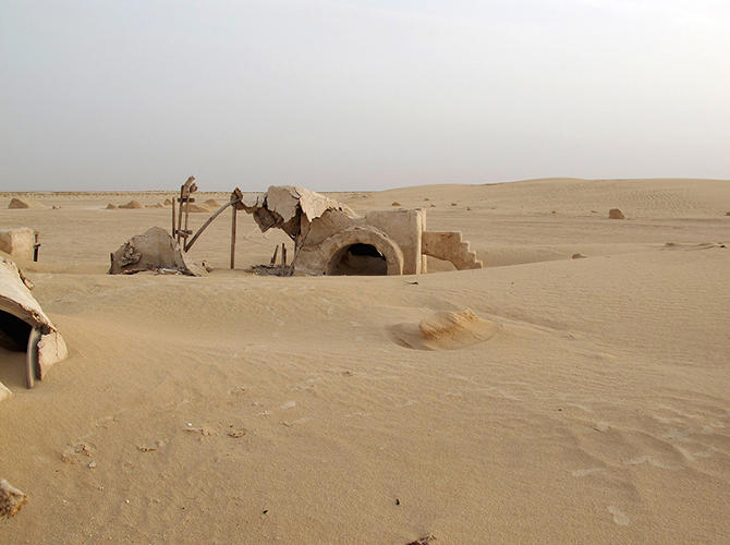 <p>She traveled to the site and documented what had happened to the homestead in Luke's absence.</p>