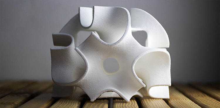<p>The von Hasselns recently received their graduate degrees from SCI-Arch, where they pioneered another novel form of 3-D printing, a technique that used UV light to modulate the printing process.</p>