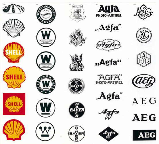 The World 39 S Most Famous Logos Organized By Visual Theme