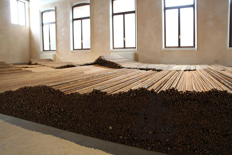 <p>That interpretation isn't off the mark. Ai's piece was created out of twisted steel rebar gathered from the site of the 2008 Sichuan earthquake, which killed nearly 5,200 children.</p>