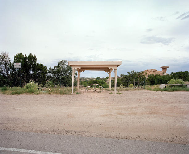 <p>Some rest stops evoke mid-century architectural trends.</p>