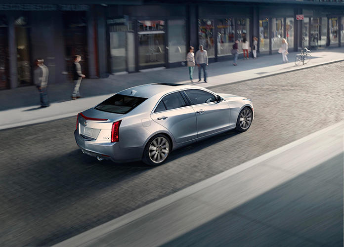 <p>And this is the new Cadillac ATS, its little brother. The CTS is a hit--Cadillac's first answer to the popular BMW 3 series. But it's taken a long time to get here.</p>