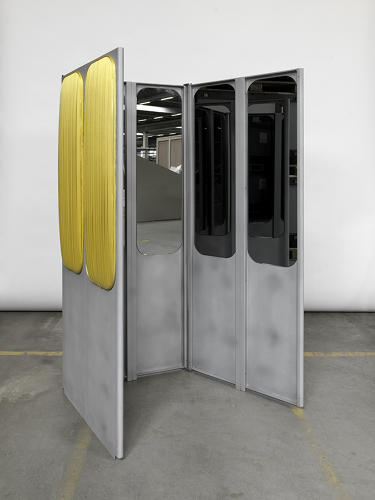 <p>The designers secured the 1970s-era gondolas from Televerbier, when they announced that they would be dismantling a line of the lifts. Initial plans to redesign 40 lifts were scaled down when construction plans met delays. Instead, the artists shared the few resources they had, and found creative ways to deconstruct four, instead of 40, gondolas.</p>