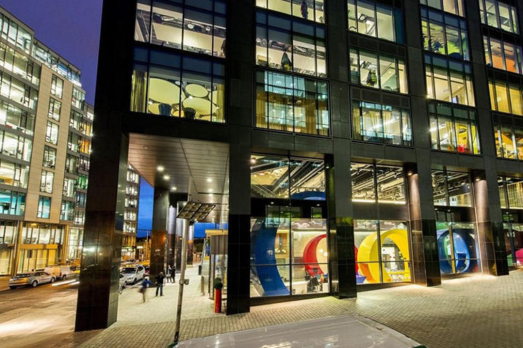 <p>The sprawling campus stretches across four building in downtown Dublin, covering 47,000 square meters of office space.</p>