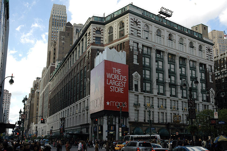 <p>…and Macy's Herald Square…</p>