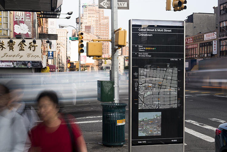 <p>NYC's new signs are oriented to a first-person perspective.</p>