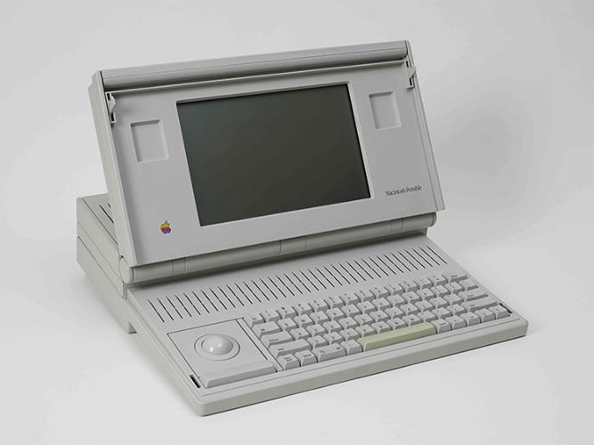 <p>The 1990 model of the Prototype Macintosh Portable Computer went for $2,500.</p>