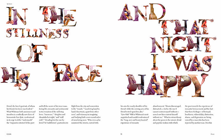 <p>Freer cites an array of figurative alphabets as reference, such as dance company Pilobolus's, or Anthon Beeke's naked ladies alphabet.</p>
