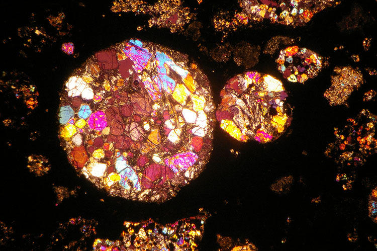 <p>The Allende meteorites fell in 1969 at Pueblito de Allende, Mexico. These astral rocks contain interstellar dust particles thought to be the oldest unaltered particles in our solar system: 4.567 billion years old, that is.</p>