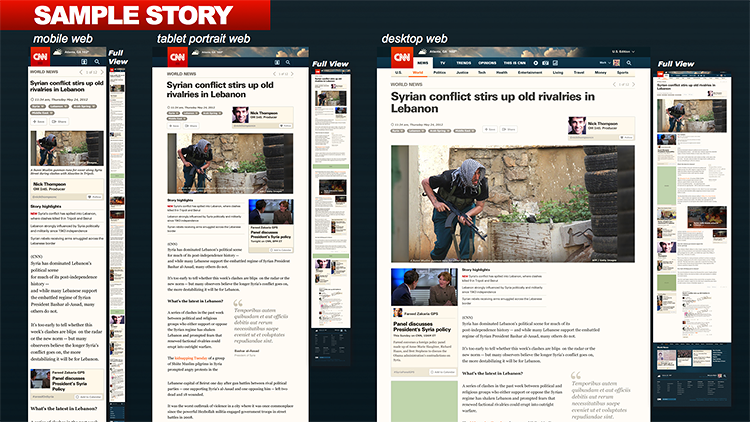 <p>But these colors are only temporary. As the stories on the homepage become more serious, the background colors will change, escalating to bright red for breaking news.</p>