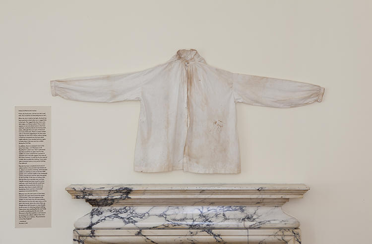 <p>Emily Spivack's Internet-based project &quot;Sentimental Value&quot; has been converted into an exhibition at the Philadelphia Art Alliance, with 23 garments and their original eBay descriptions on display until August 23rd.</p>
