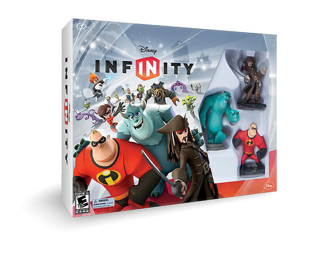 <p>Disney Infinity was released on August 18. A starter pack ($74.99) comes with three figures from different movies--Jack Sparrow, <em>The Incredibles</em>' Mr. Incredible, and <em>Monsters University</em>'s Sulley--along with a flat base that plugs into console systems.</p>