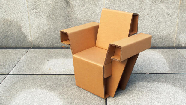 could this cardboard furniture replace your ikea chairs and bookshelves coexist ideas impact cardboard furniture for sale