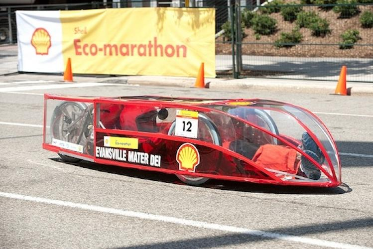 <p>Indiana's Mater Dei High School also scored fourth place for this 1,372 mpg vehicle. What do they serve these kids for lunch, anyway?</p>